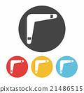 toy boomerang icon 21486515