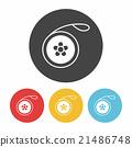 toy yo-yo icon 21486748