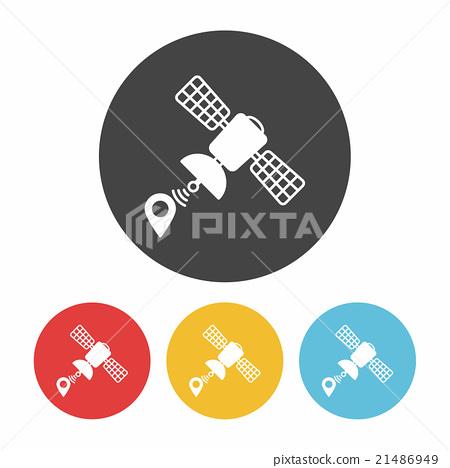 Space Satellite icon 21486949