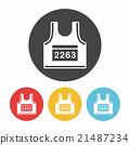 Sportswear icon 21487234