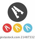 Clothespin icon 21487332