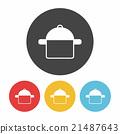 pot icon 21487643
