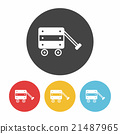 toy car icon 21487965
