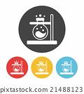 Beaker icon 21488123