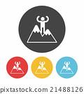 climbing icon 21488126