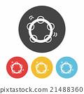 Tambourine icon 21488360