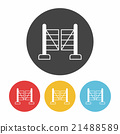 garden fence icon 21488589