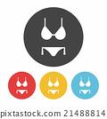 bikini icon 21488814