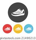 sneaker icon 21490213