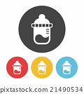 Feeding bottle icon 21490534