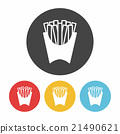 french fries icon 21490621