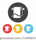 towel icon 21490834