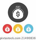 wallet icon 21490836