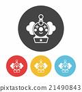 toy clown icon 21490843