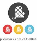 baking gloves icon 21490846