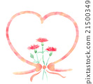 water color, watercolor, carnation 21500349