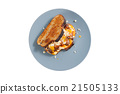 Sandwich with cheese and chicken 21505133
