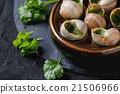 Ready to eat Escargots de Bourgogne snails 21506966