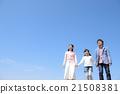 藍天和三個家庭成員 21508381