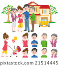 Family two households 21514445