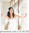 新娘 窗 窗户 21516158