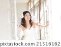 新娘 窗 窗戶 21516162