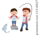 Fishing family 21518027