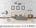 阁楼 卧室 室内装饰 21518881
