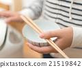 筷子 饭碗 茶碗 21519842