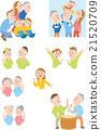ครอบครัว,ภาพวาดมือ ครอบครัว,คน 21520709