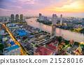 Bangkok Cityscape Sunset 21528016