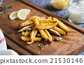 Potato wedges with rosemary and sea salt 21530146