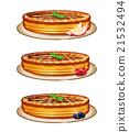 餡餅 派 烘焙甜食 21532494