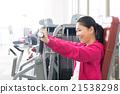 女性 健身 鍛煉 21538298