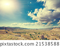 Beautiful landscape in Cappadocia 21538588