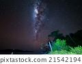 milky, way, star 21542194
