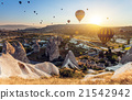 Hot air balloons over Cappadocia 21542942