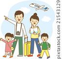 家庭旅行 家庭 家族 21543129