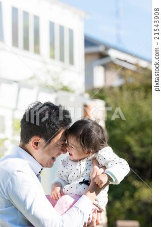父母和小孩 親子 育兒 21543908