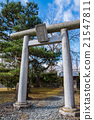 Torii Gate, stone-built, masonry 21547811