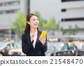 女性 行動電話 iphone 21548470