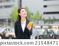 女性 行動電話 iphone 21548471