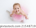 Little ballerina in pink tutu 21548719