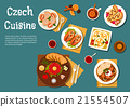 National czech cuisine nutritious dishes 21554507