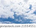 藍天天空雲彩春天天空背景材料3月 21554551
