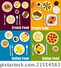 food, vector, pizza 21554563