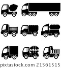 silhouettes the cargo trucks 21561515