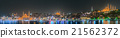 Istanbul skyline from Galata bridge by night 21562372