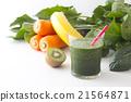 綠色的榨果汁 蔬菜汁 飲料 21564871