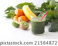 綠色的榨果汁 蔬菜汁 飲料 21564872